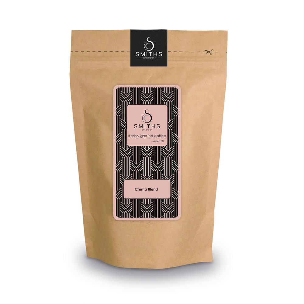 Crema Blend, Heritage Fresh Ground Coffee