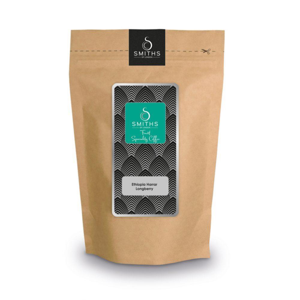 Ethiopia Harrar Longberry, Heritage Single Fresh Ground Coffee
