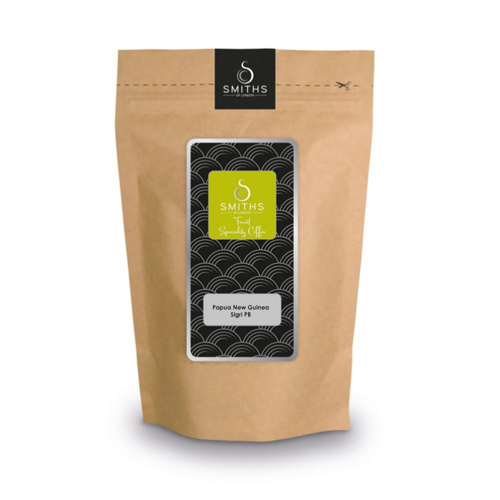 Papua New Guinea Sigri PB, Heritage Single Fresh Ground Coffee