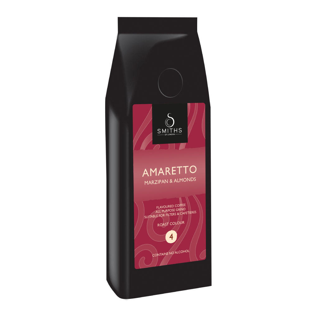 Amaretto Flavoured Coffee, Smiths of London