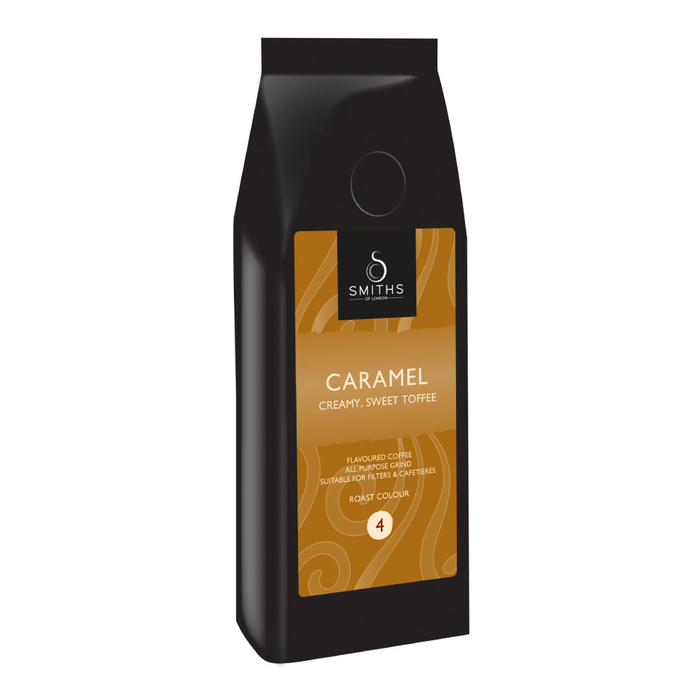Caramel Flavoured Coffee, Smiths of London