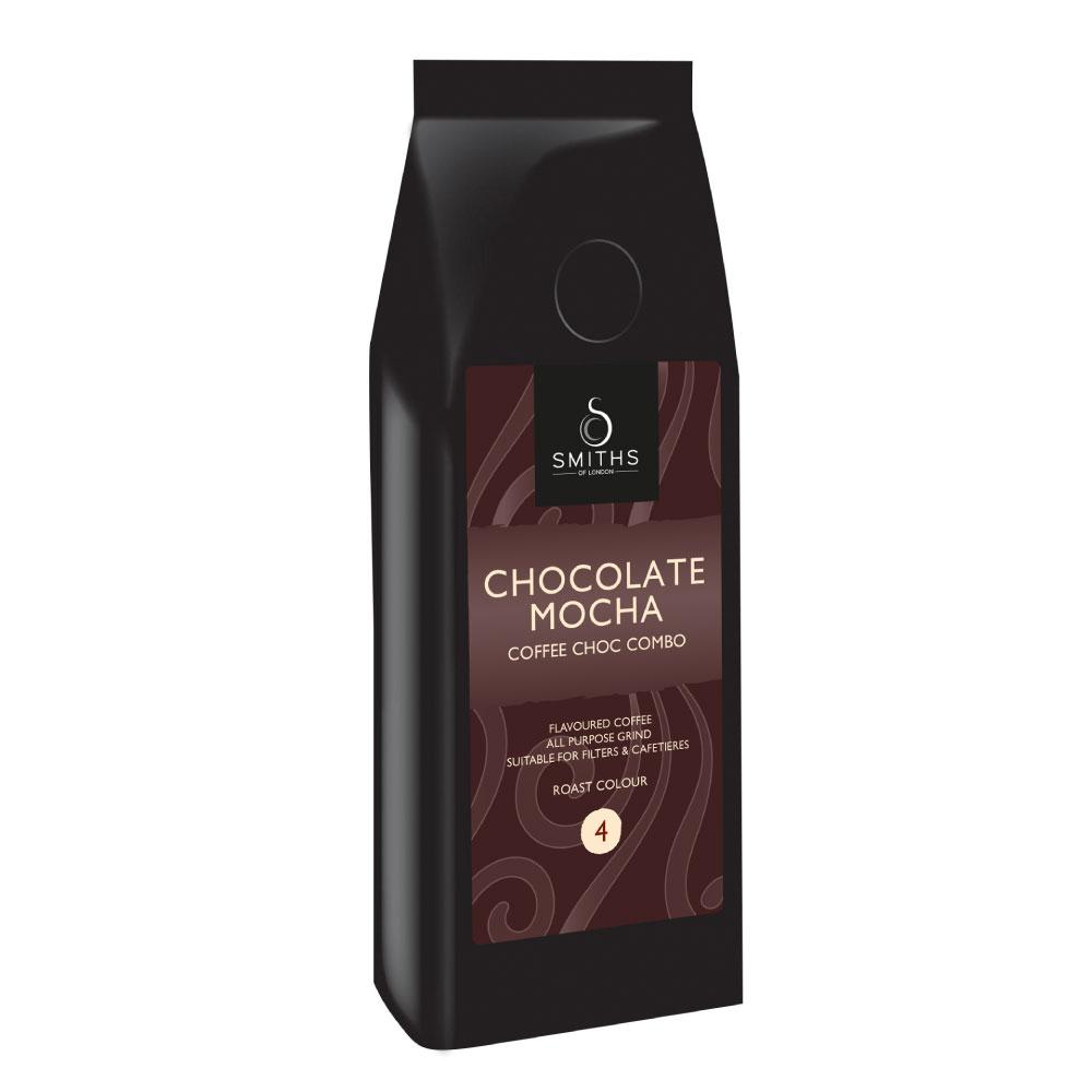 Chocolate Mocha Flavoured Coffee, Smiths of London