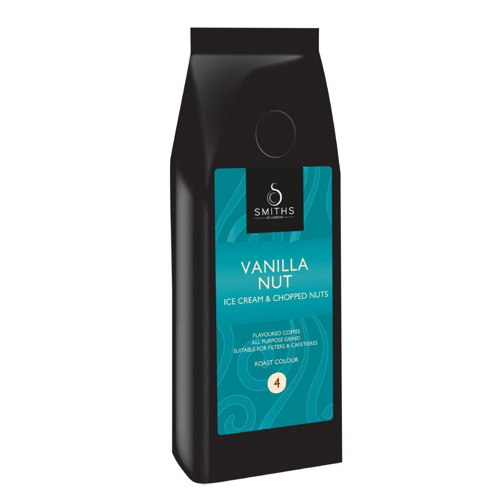 Vanilla Nut Flavoured Coffee, Smiths of London
