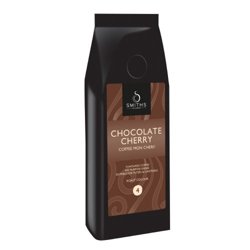Chocolate Cherry Flavoured Coffee, Smiths of London
