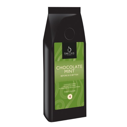 Chocolate Mint Flavoured Coffee, Smiths of London
