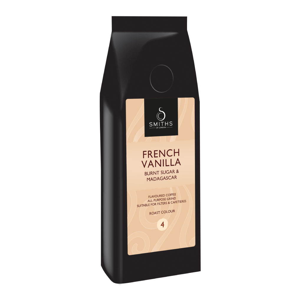 French Vanilla Flavoured Coffee, Smiths of London