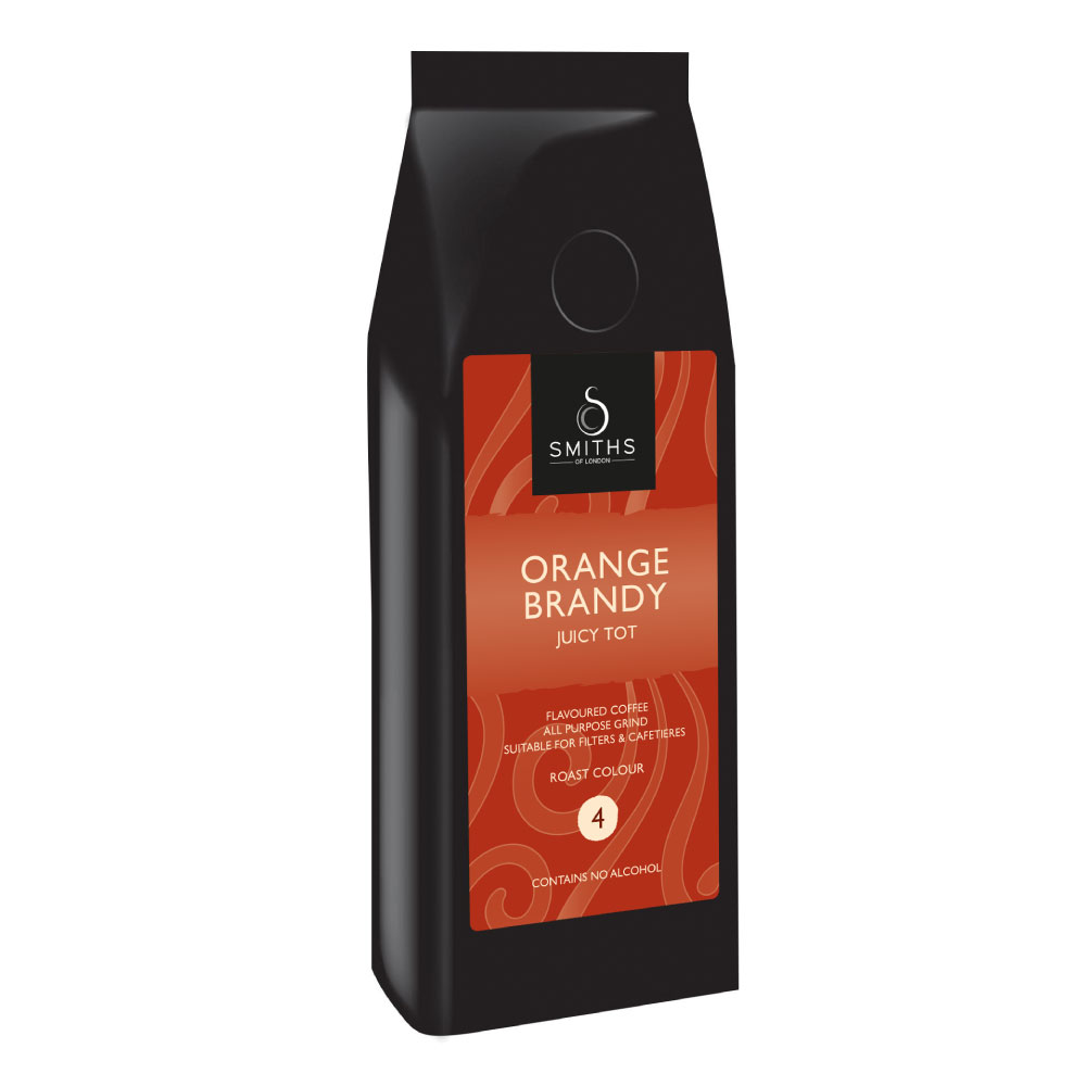 Orange Brandy Flavoured Coffee, Smiths of London