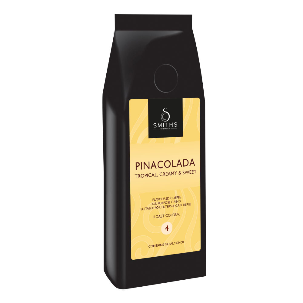 Pinacolada Flavoured Coffee, Smiths of London