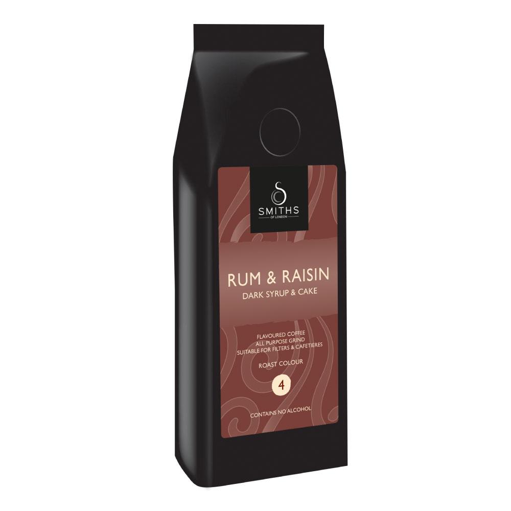 Rum Rasin Flavoured Coffee, Smiths of London