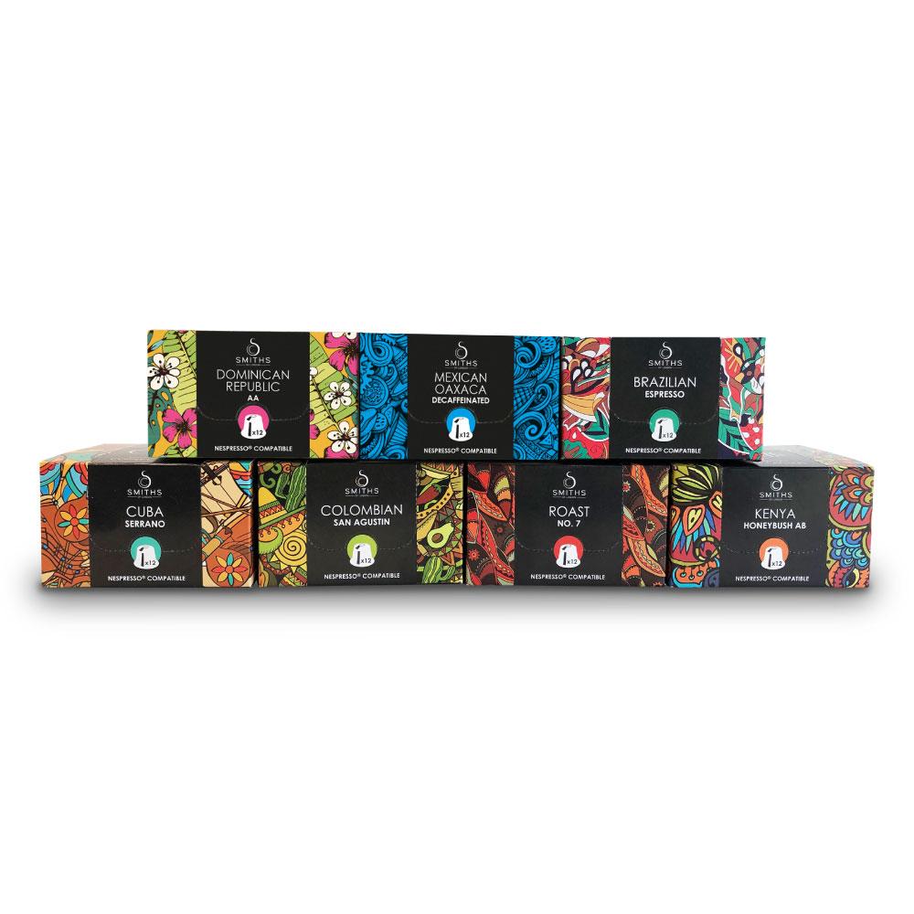 Capetti Multi Pack, Biodegradable Coffee Capsules