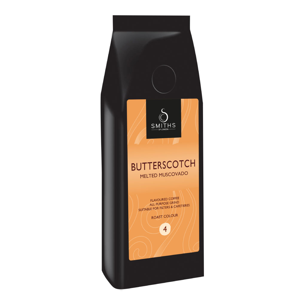 Butterscotch Flavoured Coffee, Smiths of London