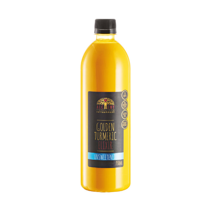 Golden Turmeric Elixir Unsweetened, Alchemy Superfoods