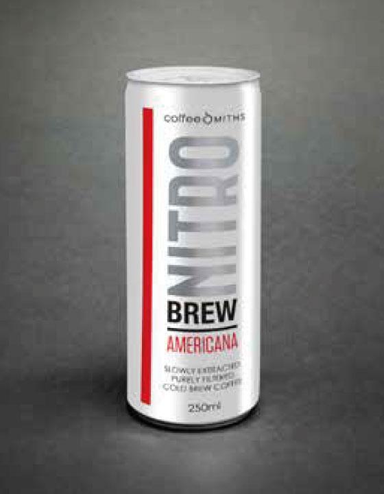 NitroBrew, Cold Brew Coffee, Americana