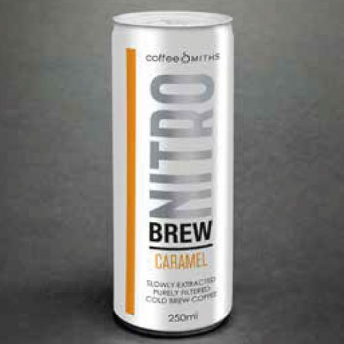 NitroBrew, Cold Brew Coffee, Caramel