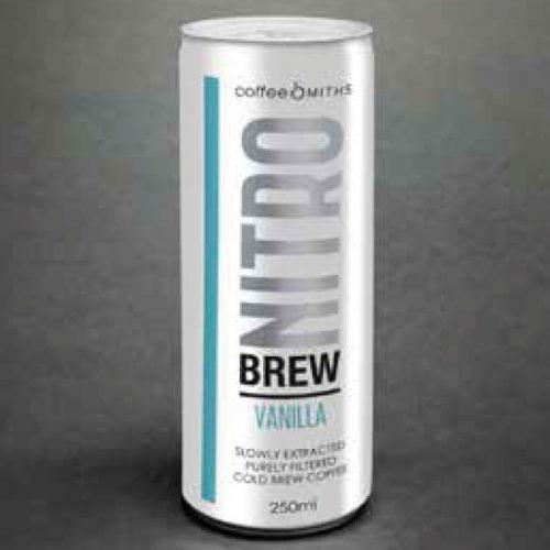 NitroBrew, Cold Brew Coffee, Vanilla